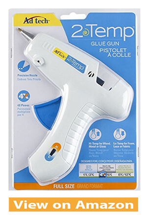 Adhesive Technologies Two-temp Glue Gun