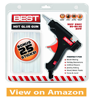 Best Hot Glue Gun Heavy Duty 20Watt Rapid Heating Technology