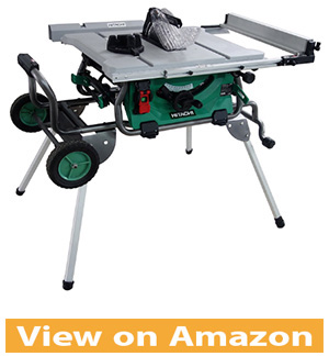 Hitachi C10RJ 10 15 Amp Jobsite Table Saw with 35 Rip Capacity