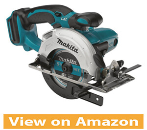 Makita XSS03Z 18V LXT lithium-ion cordless 5-3 8 inch circular trim saw