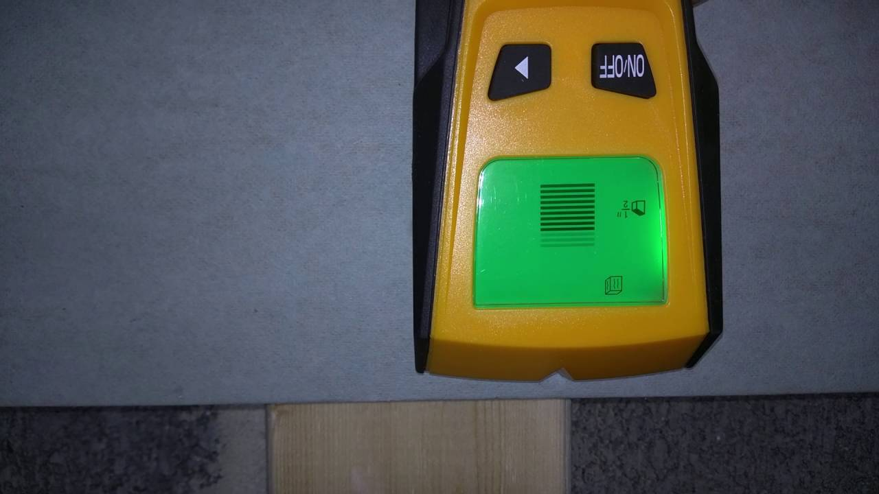 Dr.meter Fi-1 Backlight Stud Metal AC Wire Scanner Wall Stud Finder