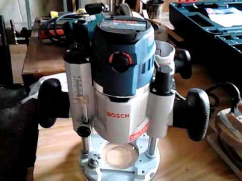 Bosch MRC23EVSK 2.3 HP Combination Plunge & Fixed-Base Variable-Speed Router Pack